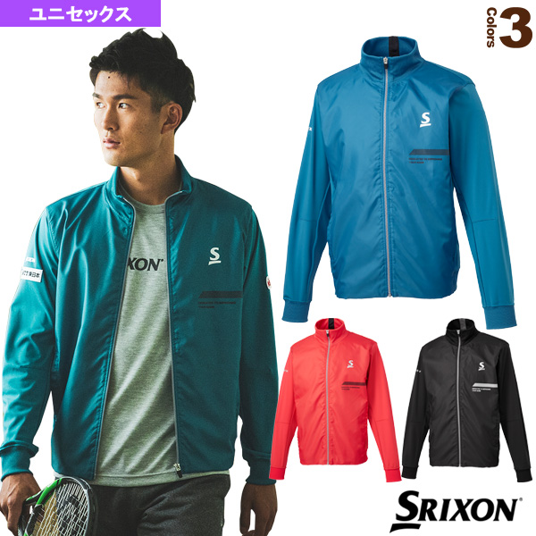 ハイブリットジャケット/ツアーライン/ユニセックス(SDW-4941)《スリクソン テニス・バドミントン ウェア(メンズ/ユニ)》