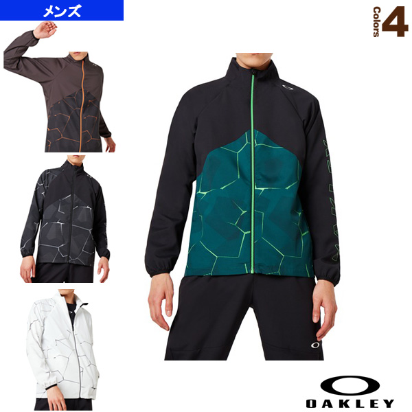 PC DRY EXPLOSION CLOTH JACKET/クロスジャケット/メンズ(412857JP)《オークリー テニス・バドミントン ウェア(メンズ/ユニ)》