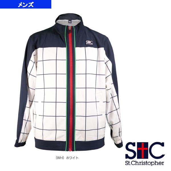 グラフチェックジャケット/メンズ(STC-AIM5161)《セントクリストファー テニス・バドミントン ウェア(メンズ/ユニ)》