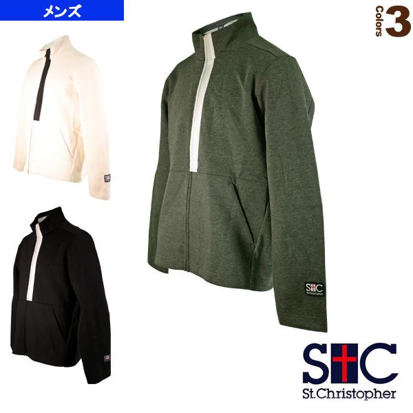 フルフィージャケット/メンズ(STC-AIM5165)《セントクリストファー テニス・バドミントン ウェア(メンズ/ユニ)》