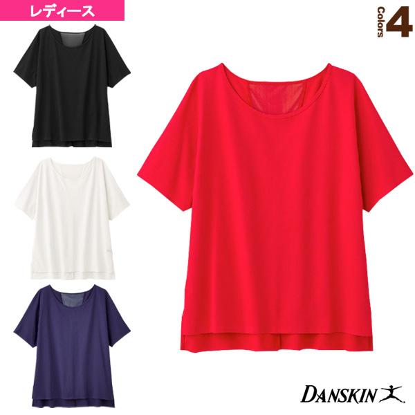 ALPHADRY S/S TEE/アルファドライ 半袖Tシャツ/レディース(DC59305)《ダンスキン フィットネス ウェア(レディース)》