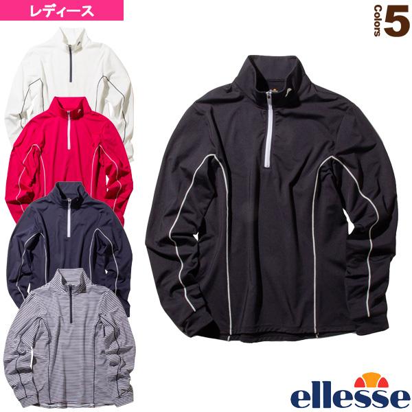 ヒートニットジップアップ/Heat Knit Zip-up/レディース(EW09324)《エレッセ テニス・バドミントン ウェア(レディース)》