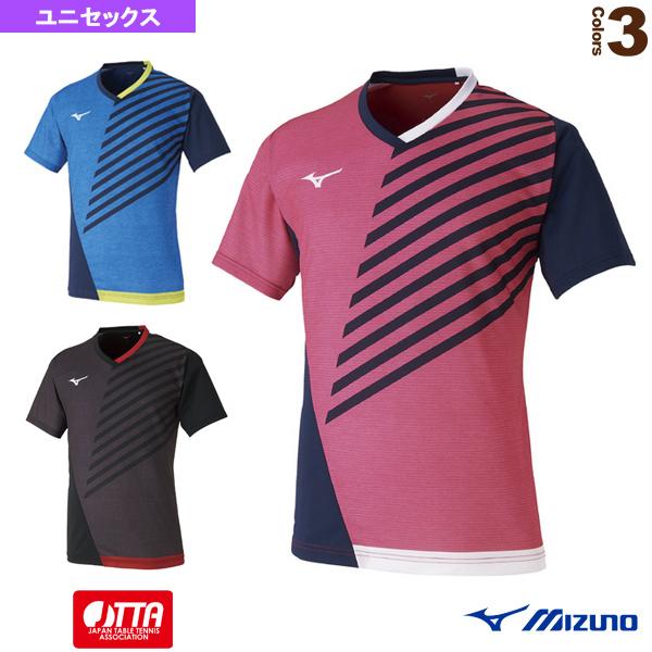 ゲームシャツ/ユニセックス(82JA0002)《ミズノ 卓球 ウェア(メンズ/ユニ)》