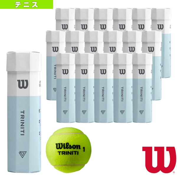 TRINITI 4 Ball/4球入×18パッケージ(WRT115200)《ウィルソン テニス ボール》