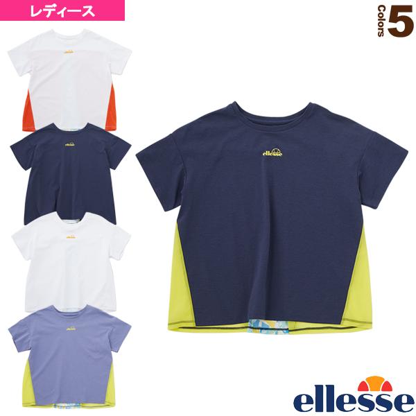 ショートースリーブバックタックシャツ/SS Back Tack Shirts/レディース(EW00108)《エレッセ テニス・バドミントン ウェア(レディース)》