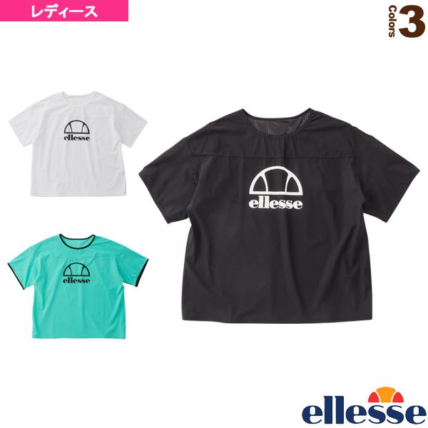 ショートスリーブロゴパンチングシャツ/SS Logo Punching Shirts/レディース(EW00116)《エレッセ テニス・バドミントン ウェア(レディース)》