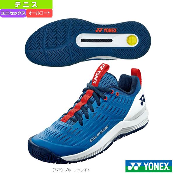 パワークッションエクリプション3メンAC/POWER CUSHION ECLIPSION 3 MEN AC/ユニセックス(SHTE3MAC)《ヨネックス テニス シューズ》(オールコート用)