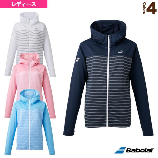 ライトジャケット/カラープレイライン/レディース(BTWPJK42)《バボラ テニス・バドミントン ウェア(レディース)》