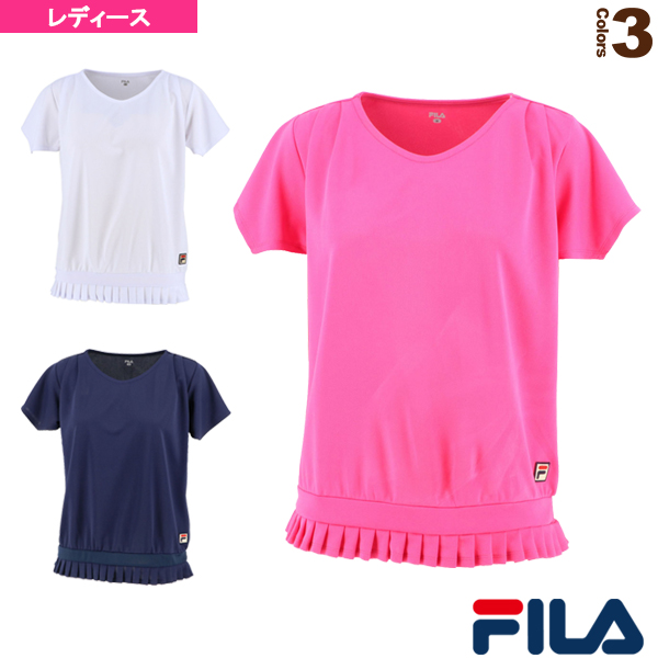 ゲームシャツ/レディース(VL2114)《フィラ テニス・バドミントン ウェア(レディース)》