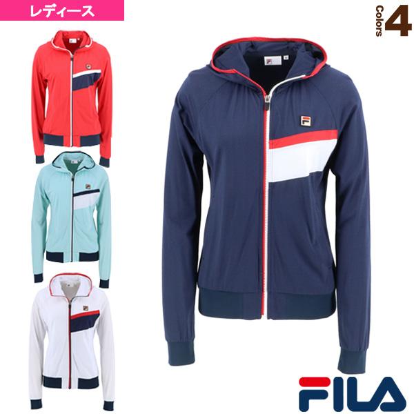 トラックジャケット/レディース(VL2117)《フィラ テニス・バドミントン ウェア(レディース)》
