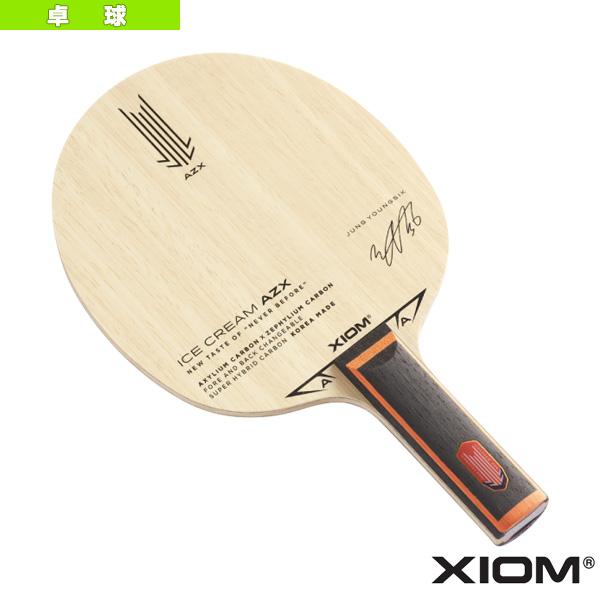 アイスクリーム AZX/ICE CREAM AZX/ストレート(21003)《エクシオン 卓球 ラケット》