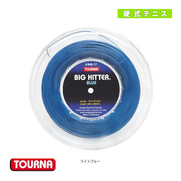 トーナ ビッグヒッターブルー/200mロール(BHB-R)《ユニーク テニス ストリング(ロール他)》