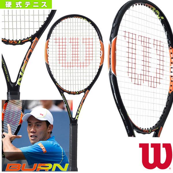 BURN 95J/バーン 95J(WRT730610)《ウィルソン テニス ラケット》硬式テニスラケット硬式ラケット