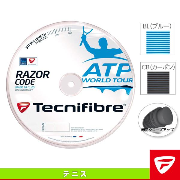 RAZOR CODE 200m/レーザーコード 200mロール(TFR513/TFR514/TFR515)《テクニファイバー テニス ストリング(ロール他)》