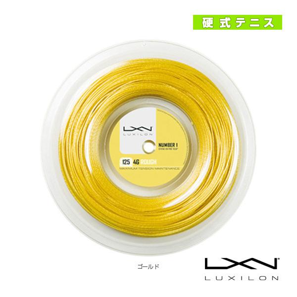 LUXILON ルキシロン/4G ROUGH 125/200mロール(WRZ990144)《ルキシロン テニス ストリング(ロール他)》(ポリエステル)ガット