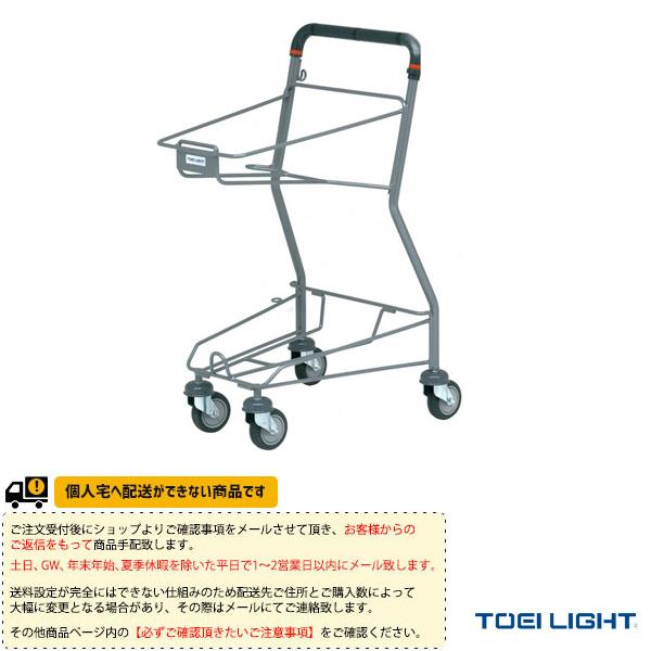 [送料別途]テニスボールキャリー/カゴ無(B-2550)《TOEI(トーエイ) テニス コート用品》