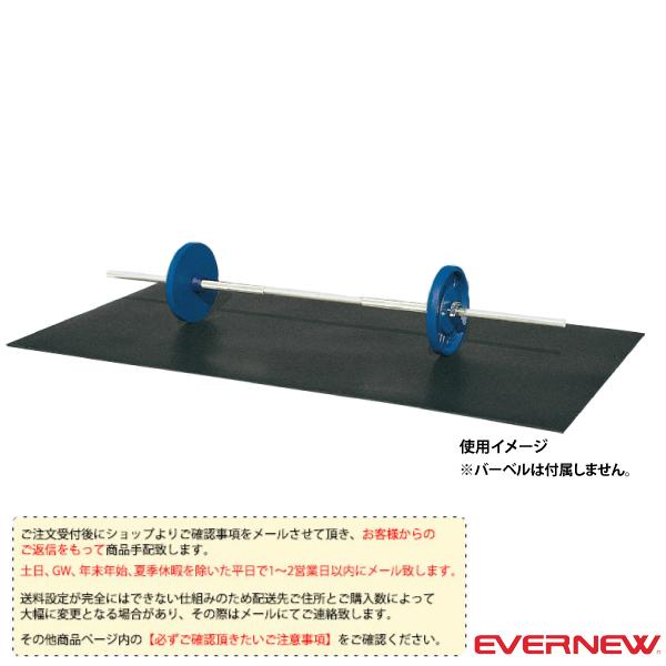 [送料別途]ゴムマット10/200cm×100cm×1cm(ETB163)《エバニュー オールスポーツ 設備・備品》