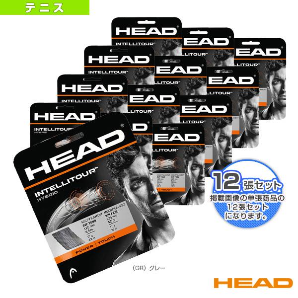 『12張単位』インテリツアー/IntelliTour(281002)《ヘッド テニス ストリング(単張)》(マルチフィラメント)ガット