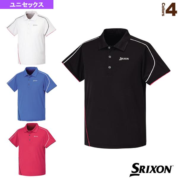 ポロシャツ/ユニセックス(SDP-1513)《スリクソン テニス・バドミントン ウェア(メンズ/ユニ)》テニスウェア男性用