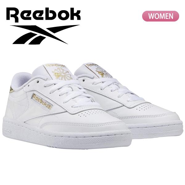 リーボックのクラシックスニーカー レディース ローカットシューズ 靴 あす楽対応 送料無料 メーカー再生品 リーボック ホワイト C レディス CLUB FW8287 Reebok CLASSIC ブランド品