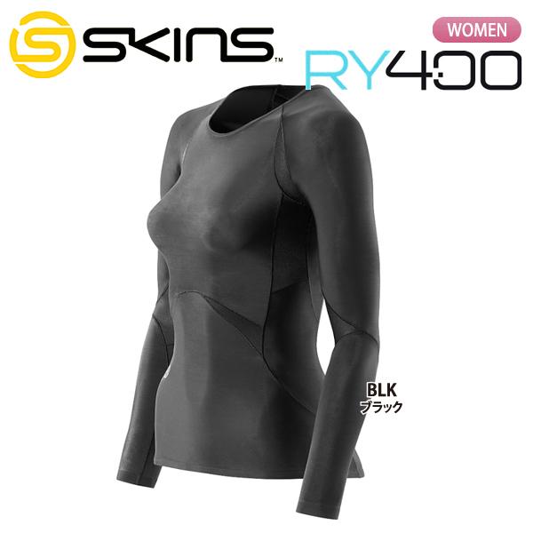 SKINS 【スキンズ】 RY400 リカバリー ウィメンズ ロングスリーブトップ