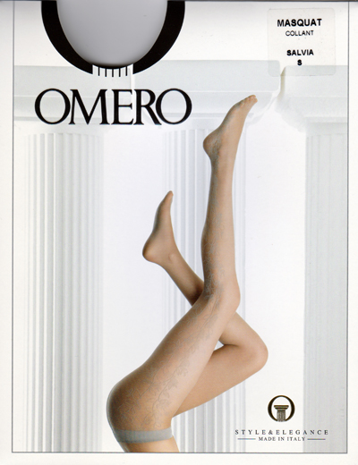 世界の人気ブランド 期間限定 3600円が 999円 メール便OK インポートストッキング イタリア製 いよいよ人気ブランド ひかえめで オメロ しっとりしたカラー 上品 Masquat フェミニンな柄