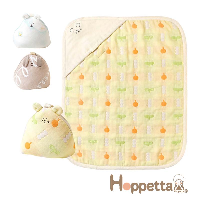 Hoppetta ふくふくガーゼ 6重ガーゼ ブランペット