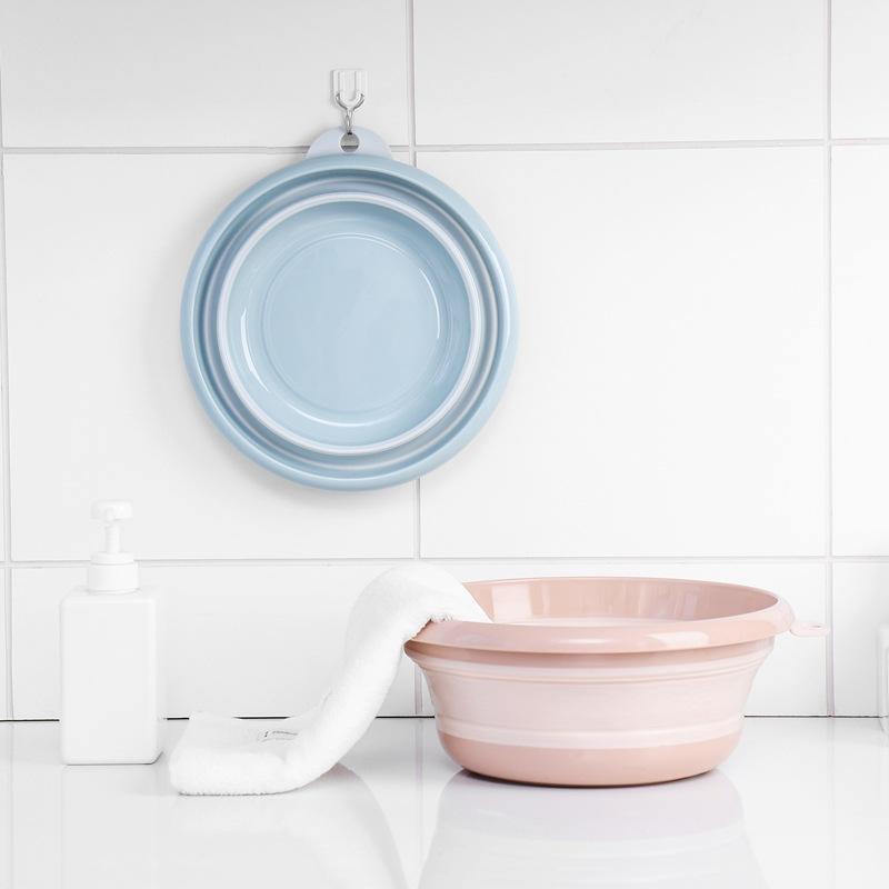 ついに入荷 折りたたみ 湯おけ ソフトタブ プラスチック お風呂用品 バス用品 バスグッズ ウォッシュタブ 正規激安 コンパクト 浴室 湯桶 たらい 洗面器