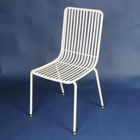ガーデンチェア スチール製 ガーデンチェア アイアン 椅子 イス チェア シンプル 木製 北欧 庭 ガーデン エクステリア ガーデニング ガーデンファニチャー チェア テーブル 家具 屋外 おしゃれ 店舗 ガーデニング