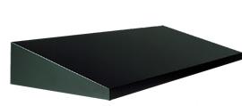 送料無料!アルミ板曲庇AM1200 出幅D1200mm×全長寸法W1501~W2000mm