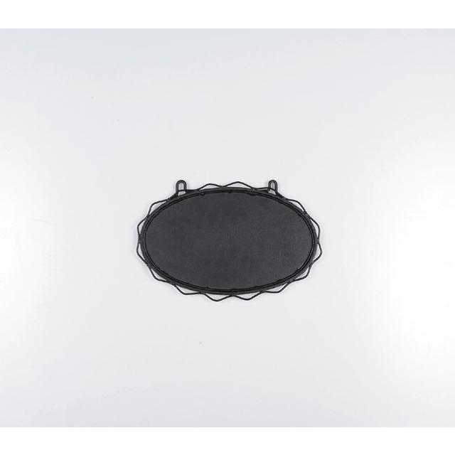 ロートアイアン ネームプレート ブラック S3018 300*180