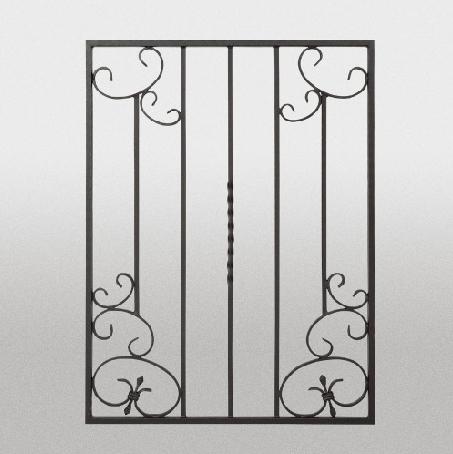 【取付部品込:1セット(4ヶ)】ロートアルミ 装飾面格子 RAM03 670*900