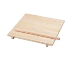 のし板(麺棒付き) 桐製 中