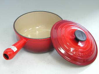 ル・クルーゼ/LECREUSET ソースパン18cm チェリーレッド (ルクルーゼ:片手鍋)