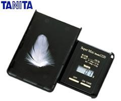 タニタ/TANITA ポケッタブルスケール(はかり) スーパーミニ 1220 (ブラック) [bn]
