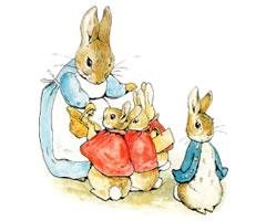 彼得Rabbit PTO系列黄油刀PTO單物品(katorari、日本製造)[a]
