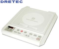 ドリテック/DRETEC IH電磁調理器 ホワイト DI-103WT [bn]