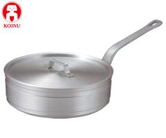 本間製作所/仔犬印 アルミ製 ソテーパン33cm 溶接止 47033 (片手鍋・業務用・厨房用品)