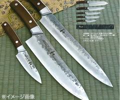 和睦/NAGOMI大馬士革鋼鋼、槌子眼睛完成格擋小刀100mm(平靜下來菜刀、菜刀)