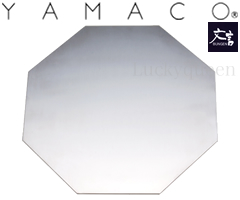 山崎金属工業/YAMACO 文言 八角プレート 艶消し仕上げ (BUNGEN・ツヤ消し仕上げ・ヤマコ)