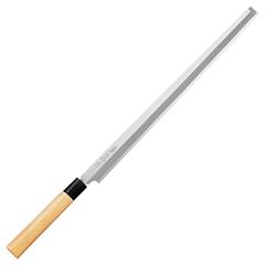 藤次郎 白紙鋼(樹脂桂柄) 蛸引330mm F-915 (蛸引包丁・刺身包丁・和包丁・TOJIRO)