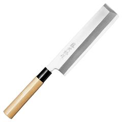 藤次郎 白紙鋼(樹脂桂柄) 角型薄刃195mm F-942 (角型薄刃包丁・和包丁・TOJIRO)
