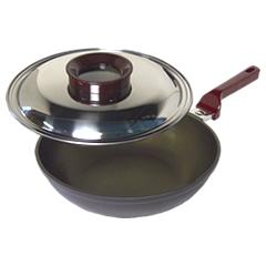 ナカノ商店/Nakano いため鍋30cm (日本製・アルミ鋳物・アルミ鍋・片手万能鍋・ナカノの本格厚鍋)