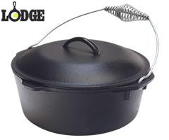 ロッジ/LODGE ロッジロジック キッチンオーヴン 10-1/4インチ L8DO3 (IH対応・電磁調理器対応・ダッチオーブン・キッチンオーブン・鉄鍋) [n]