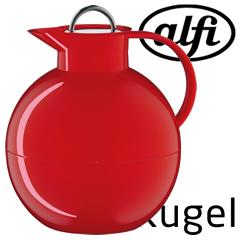 アルフィ/alfi ステンレス製卓上用ポット Kugel(クーゲル)1.0L レッド AFTA-1001S (アルフィー)