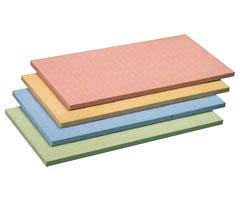 アサヒ カラーまな板 SC-102 500×330×H15 (合成ゴム) [nb]