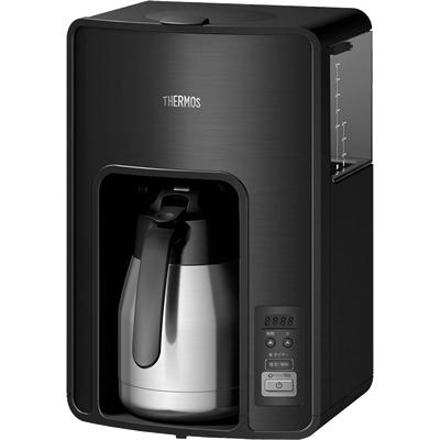 サーモス/THERMOS 真空断熱ポットコーヒーメーカー ECH-1001 ブラック