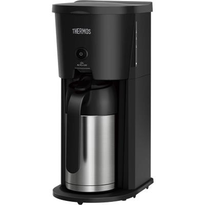 サーモス 真空断熱ポット コーヒーメーカー ECJ-700(BK) ブラック (ポットはステンレス製魔法瓶構造・THERMOS)