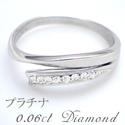 pt900 pt950ダイヤモンドリング(指輪) 0.06ct 『Leti 8diamond』最高級クラスの眩いばかりの輝きを放つ天然ダイヤモンド本来の光【送料無料】【ブライダリング】【%OFF】【SALE】【半額】【楽ギフ_メッセ】【0824カード分割】
