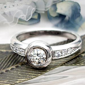 K18YG/PG/WG【0.38ct】一粒ダイヤモンド エタニティダイヤモンドリング『Sourire』[SIクラス/F~Dカラー/GOOD~VERYGOOD/無色透明] 優雅で上品が魅力の大人のエタニティは時代を超えても愛され続けます【送料無料】【ゴールド】【楽ギフ_メッセ】